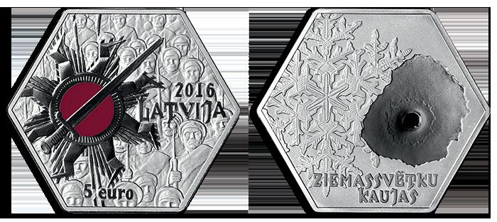 latvia-2016-€5-christmas-battle-or