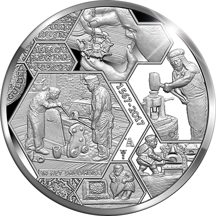 Royal dutch mint medal coin news the netherlands celebration medal marks 450 years of mint history fandeluxe Choice Image