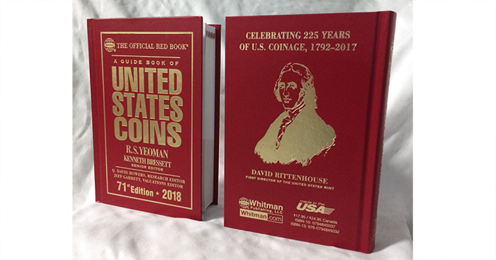 Guide-Book-United-States-Coins-Red-Book-2018-71st-Rittenhouse-2
