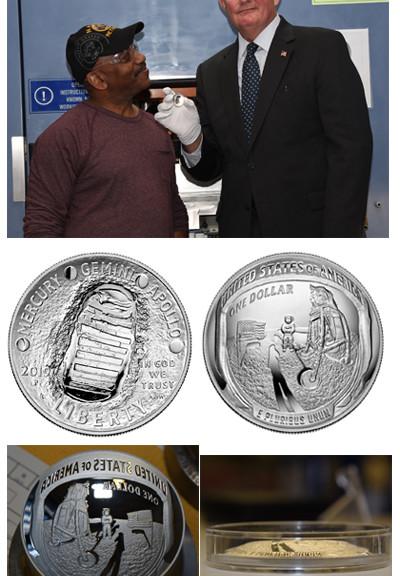 Apollo 11 strike ceremony | Coin News