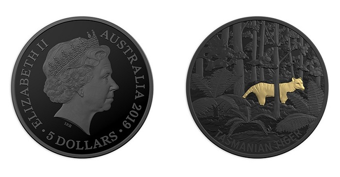 unusual coinage Aborigene TASMANIA 5 Maray 2019 Cu Ni Octogonal