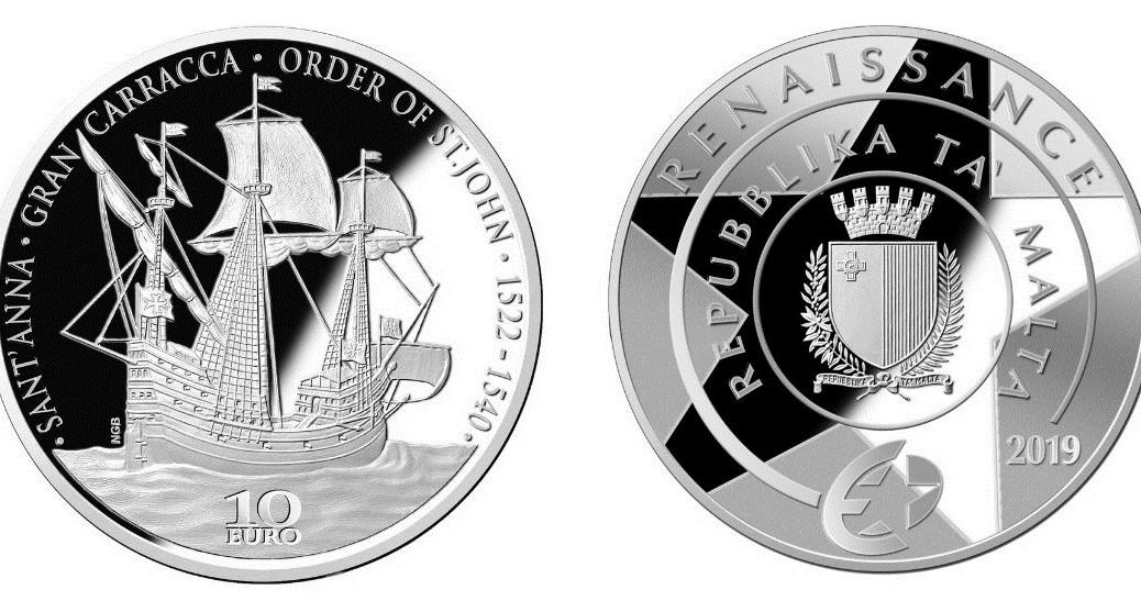 malta-2019-€10-europa-renaissance-silver-pair