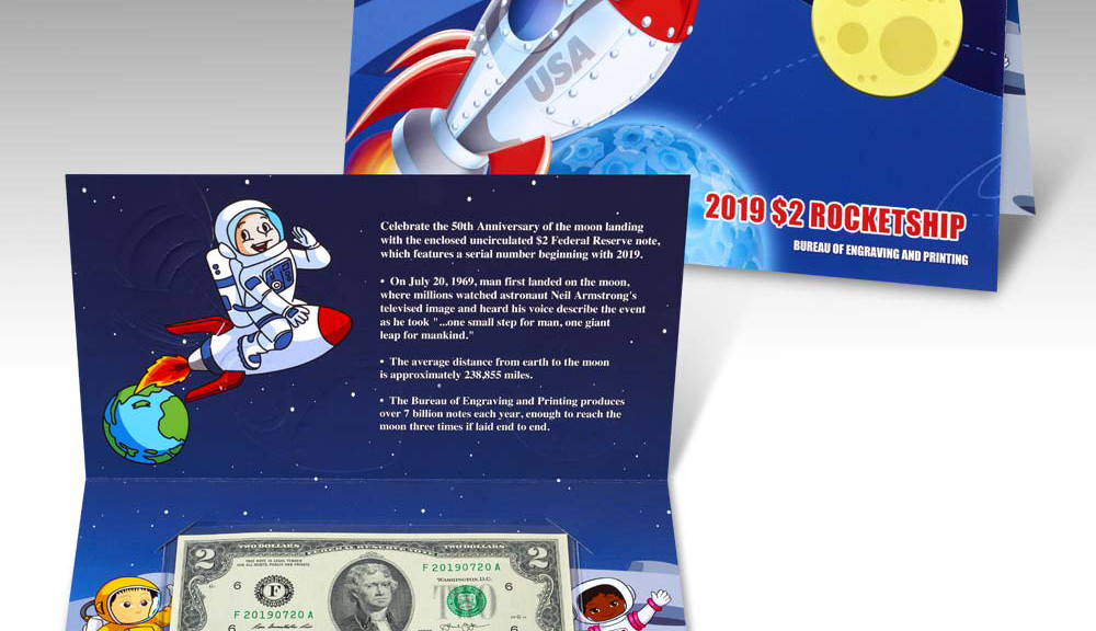 2019 D 50c Kennedy ProofLike NGC MS 68 PL ROCKET SHIP SET Early Releases LIVE!!