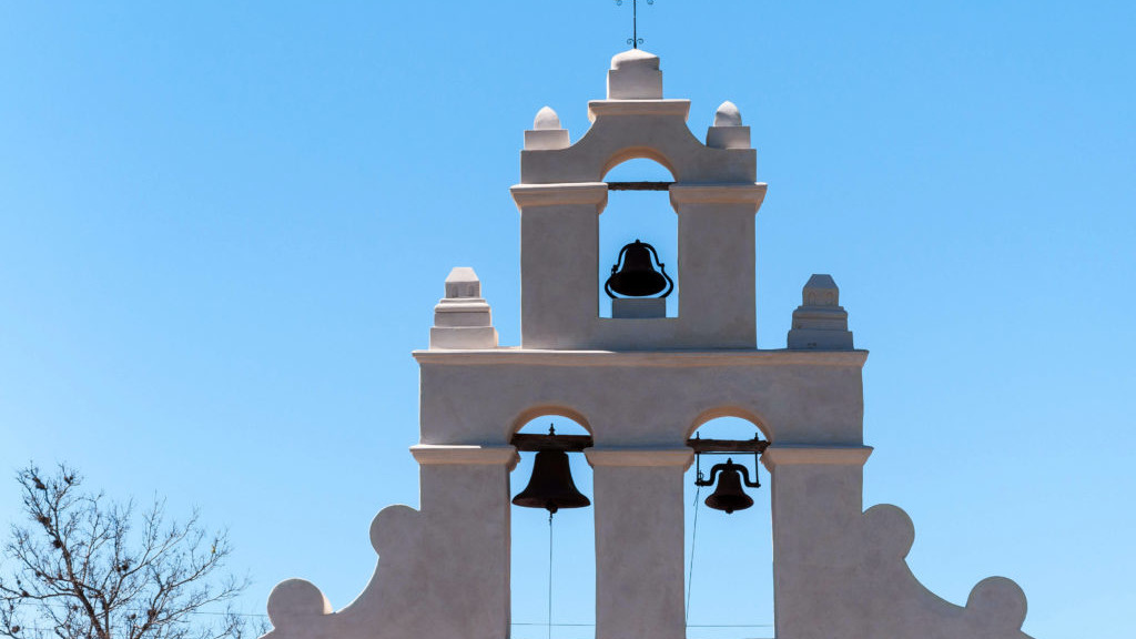 The Bell-tower  of San Juan Capistrano Mission