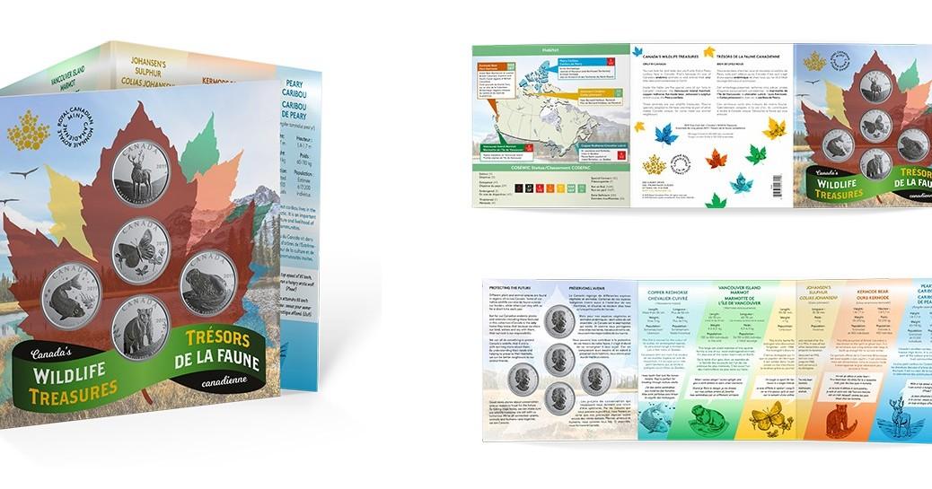 canada-2019-Wildlife-treasures-set-50-cents-c