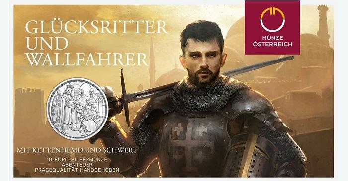 austria-2019-Godfrey-of-Bouillon-€10-silver-pair-c-1