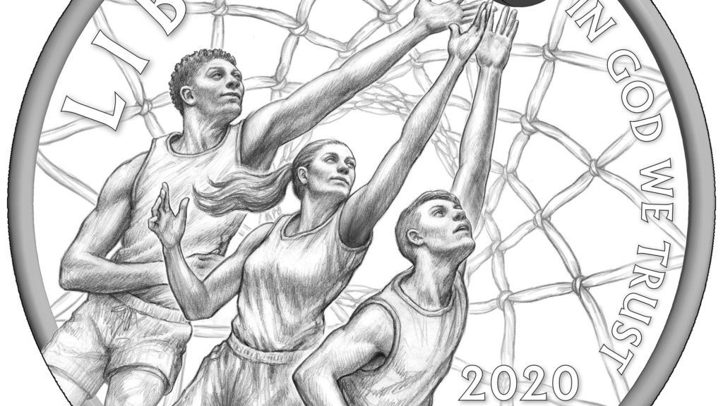Basketball Hall of Fame Reverse – GOLD