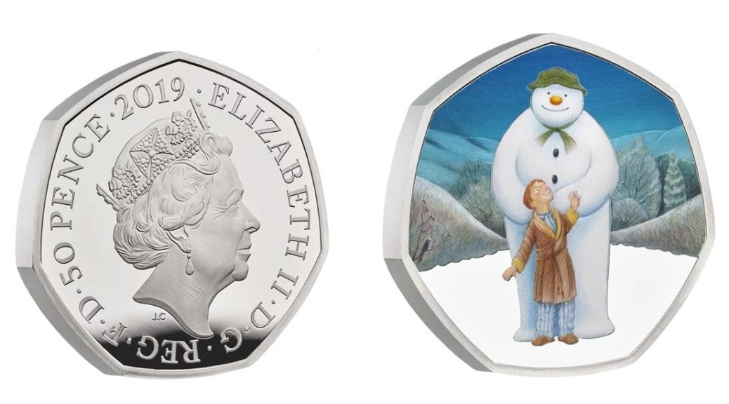 UK-2019-50-pence-snowman-silver-proof-pair