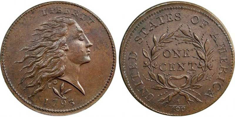 1793-Wreath-Cent-