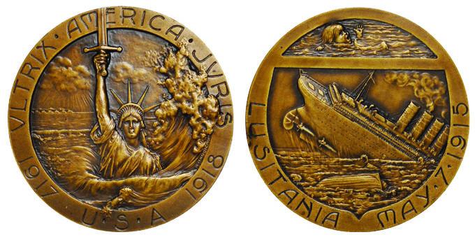 WW1-WW2 German Karl Goetz The Robber thief Medal Medallion Coin
