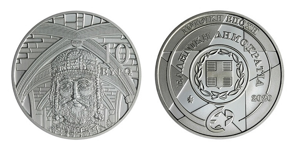 Greece-2020-€10-Europa-pair